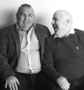 Meeting Everton hero Neville Southall (do I look chuffed or what?)