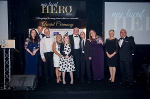 The winners from the My Local Heroes Awards 2014.