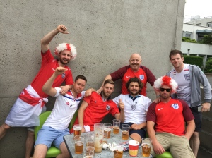 The Good - there was no trouble (that I saw anyway) at the Slovakia v England game.